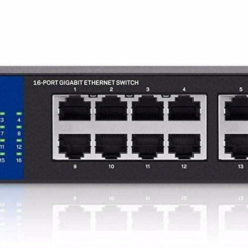 Linksys Se3016 - Switch - 16 Ports - Unmanaged - Desktop, Ra