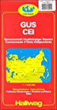 Commonwealth of Independent States, Hallwag Maps, 3828300952