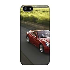 CaroleSignorile Cases Covers For Iphone 5/5s - Retailer Packaging Ferrari California 05 Protective Cases