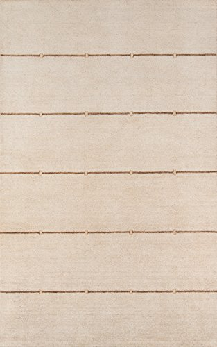 Gramercy Sand - Momeni Rugs GRAMEGM-03SND2030 Gramercy Collection, 100% Wool Hand Loomed Contemporary Area Rug, 2' x 3', Sand