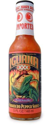 Iguana Sauce Habanero Pepper Hot