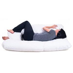 Bluestone Full Body Contour U Pillow - Great for Pregnancy