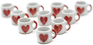 10 Darling Coffee Mug Tea Cup Dollhouse Miniatures Food Kitchen by Cool Price