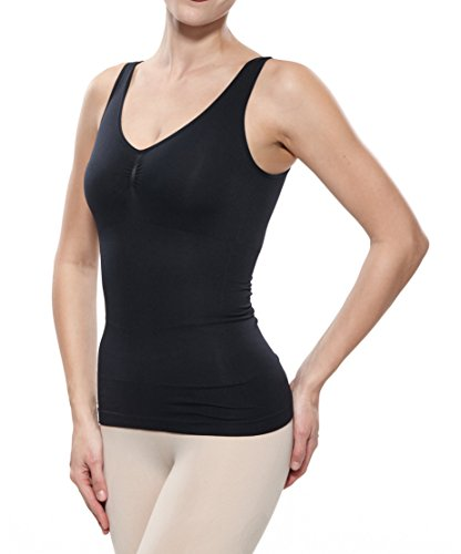 Fay Fay Womens's Camisole Basic Shapewear Racerback Underwear Tank Top Black XL