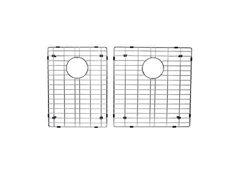 Starstar 40/60 Double Bowl Kitchen Sink Bottom Two Grids Stainless Steel 16.75x17,17x11 by Starstar
