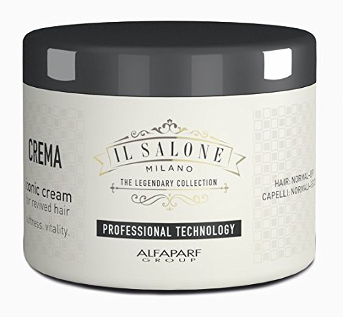 Alfaparf IL SALONE MILANO - The Legendary Collection - Iconic Cream for Revived Hair (500 mL / 17.20 fl oz.) ()