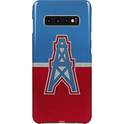 Skinit Houston Oilers Vintage Galaxy S10 Plus Lite Case - Officially Licensed NFL Phone Case Lite - Ultra-Thin, Lightweight Galaxy S10 Plus Cover