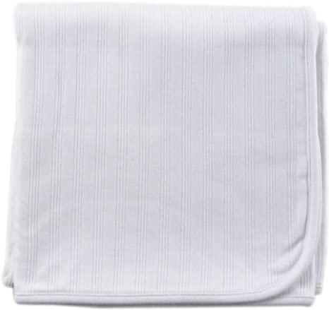 Grey Touched by Nature Organic Cotton Receiving Blanket