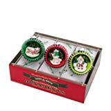 Shiny Brite Holiday Splendor 3-Pc 3.25'' Rounds With Scenes