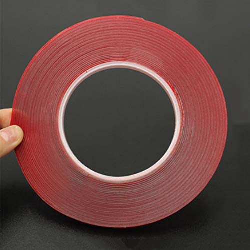 12 Widths Transparent Double Sided Adhesive Tapes Heat Resis