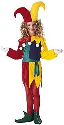 Rubies - Disfraz de arlequín para niña, talla L (8-10 años ...
