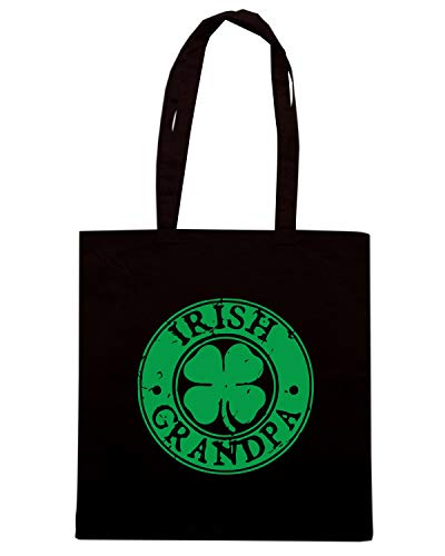 Shirt GRANDPA TIR0102 Shopper Borsa IRISH Speed Nera dYxqBwdTn