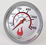 BBQ CLASSIC PARTS Char Broil Professional Round Temperature Gauge