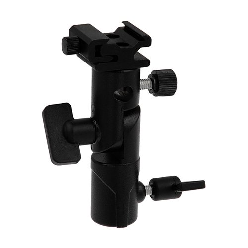 Fotodiox Elite Flash Umbrella Bracket - with Swivel/Tilt Head, Mountable to Light Stand & Tripod, for Yongnuo (Head Tilt Umbrella)