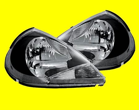 Ford Ka Black Headlights