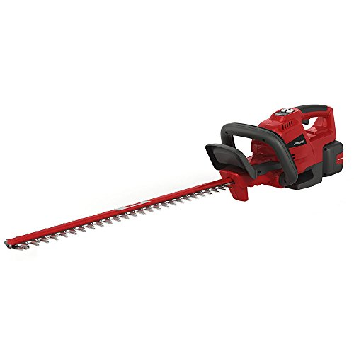 - Jonsered HT24i, 24 in. 58-Volt Cordless Hedge Trimmer (Battery Included)