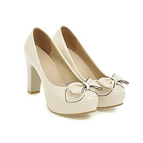 Bianco Donna 1TO9 MMS06208 White 35 con Plateau wIUp0I