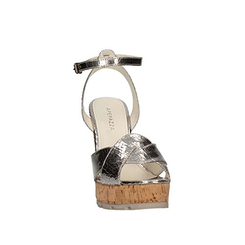 Apepazza 2017 color nbsp;FRT47 summer new spring wedge collection Sandal with silver high 1r1CP