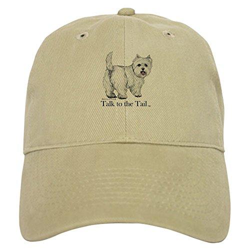 CafePress Westie Attitude Baseball - Baseball Cap with Adjustable Closure, Unique Printed Baseball Hat (Westie Hat)