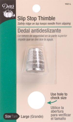 - Dritz 162-L Slip Stop Thimble, Size Large