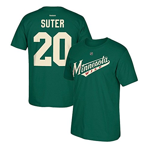 Ryan Suter Minnesota Wild Green Jersey Name And Number T-Shirt ()