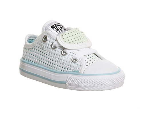 Blanco Double Chuck Zapatos Ox Converse En Tongue Taylor Color 8Oqaw6
