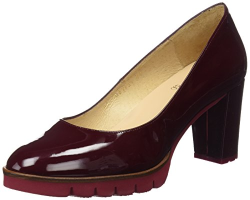 Wine Women's Closed Charol Heels Charol Toe Gadea Red AzSRqA5