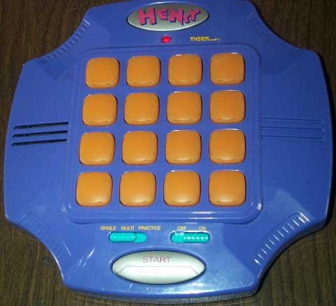 Tiger HENRY Electronic Handheld Match the Sounds Game