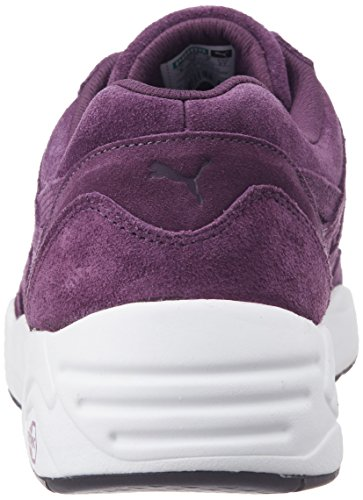 Puma Sneaker, italian plum-white-black, 11 UK