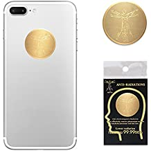 6 Pack- EMF Protection Cell Phone Anti Radiation Protector Sticker, Negative Ions EMF Blocker for Mobile Phones,Laptop and All Electronic Devices