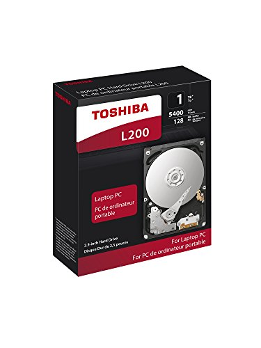 Toshiba HDWL110XZSTA L200 1TB Laptop PC Internal Hard Drive 5400 RPM SATA 6Gb/s 128 MB Cache 2.5 inch 7.0mm Height by Toshiba (Image #5)