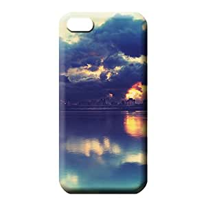 iphone 6 Hybrid Shock Absorbent Cases Covers Protector For phone cell phone carrying skins sky blue air white cloud