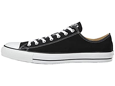 Converse Chuck Taylor All Star Low Top (4 D Black US, Black / White)