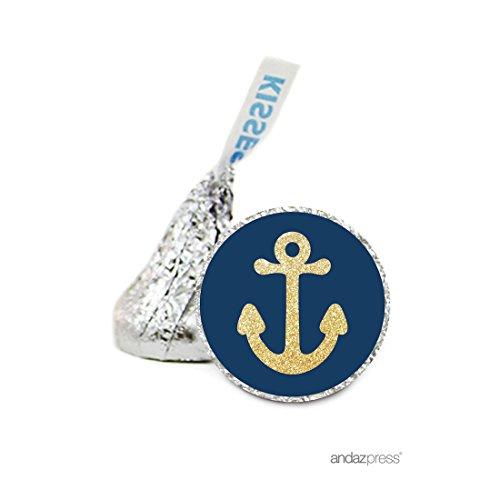Navy Blue Anchor - 1