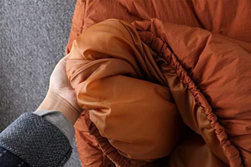 Cerniera Cerniera Cerniera Giacca Invernali Elegante Elegante Elegante Elegante Donna Casual Giacche Invernali Trapuntata Fashion Tasche Arancia Calda Chiusura Manica Cappotti Ragazza con Termico Piumino A Autunno Chic Cappotto Puro Colore Lunga qdd1C