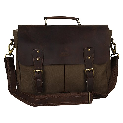 rustic-town-leather-canvas-messenger-bag-laptop-bag-gift