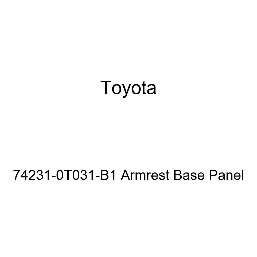 TOYOTA Genuine 74231-0T031-B1 Armrest Base Panel