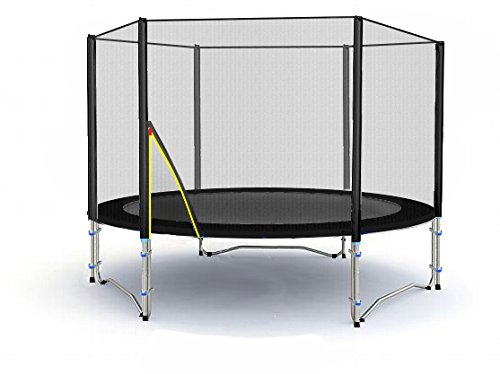 BL-T185-KS06 (S) Garten- Trampolin 185cm incl. Robustes Netz. Traglast 90kg.