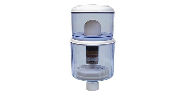 4 galones Refrigerador de agua filtro purificador - Save $ $ $ - lugar sobre Cooler - el agua del grifo a Saludable Mineral agua potable: Amazon.es: Hogar