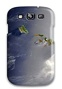 9768370K27449727 Fashionable Galaxy S3 Case Cover For Island Earth Protective Case