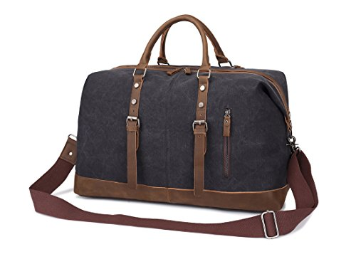 f57996e9784d Overnight Bag Weekend Weekender Bag Canvas Duffle Bag Vintage Carry on Duffel  Travel Bags for Men