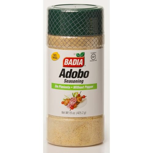 Badia Adobo without Pepper, 15-Ounce (Pack of 12)