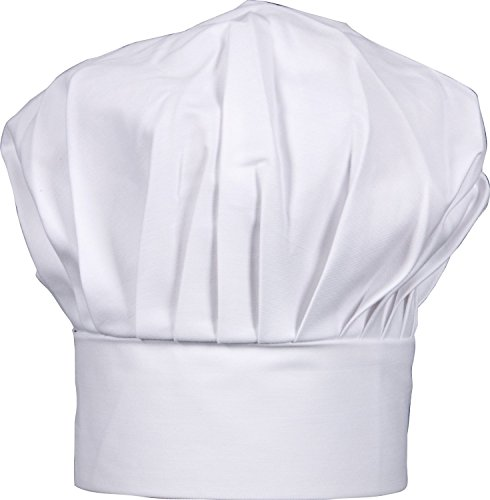 SMYLLS Chef Hat Adult Adjustable Size Poly Cotton Kitchen for sale  Delivered anywhere in USA