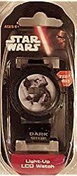 Star Wars Kids Dark Side Digital Display Light-Up LCD GREY and BLACK Watch