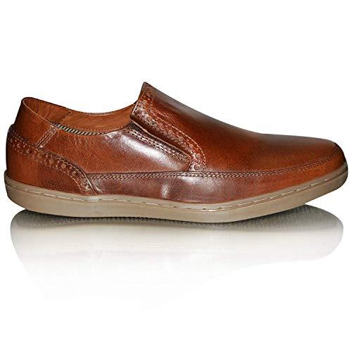Zapatos Xelay Vestir de hombre marrón d44qxEr1w