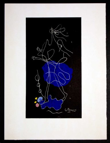 Georges Braque (1882-1963) Original Lithograph, 1964 | Documented, Signed in Matrix | Numbered Limited Edition n186; out of 350 | ART183;docs8482; Registered Documentation185; + ART183;care8482; + ART183;sure8482;179;