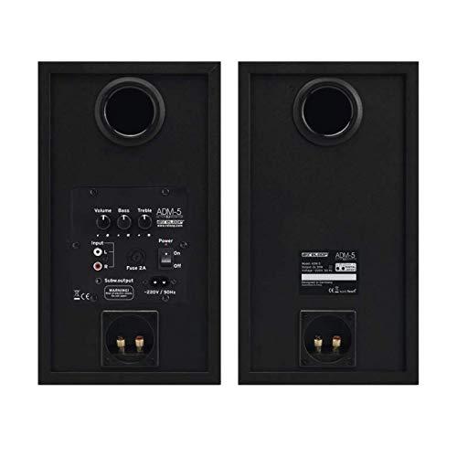 Altavoces De 2 v/ías, 2.0 Canales, Al/ámbrico, 60 W, 35-20000 Hz, Negro Reloop ADM-5 60W Negro Altavoz