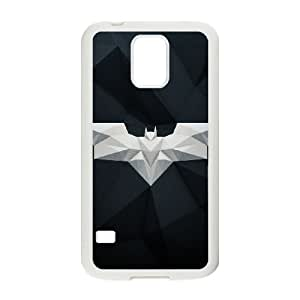 Protection Cover Samsung Galaxy S5 I9600 White Phone Case Dkurf Batman Personalized Durable Cases