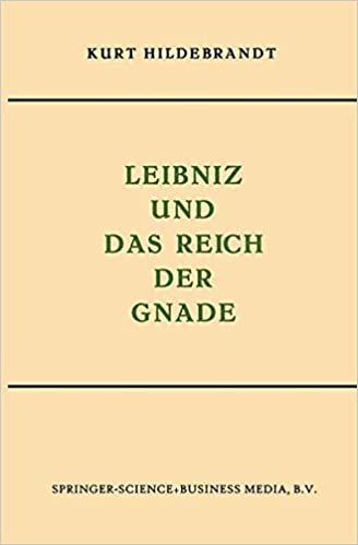 Book Leibniz und das Reich der Gnade