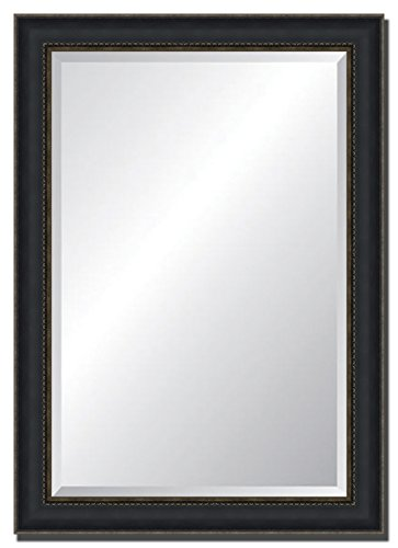 Tangletown Fine Art Wall Mirror with Black/Gold Frame. 30x42 by Tangletown Fine Art